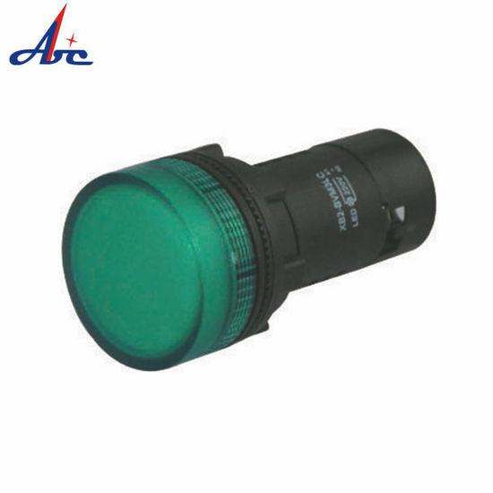 Mount 22/25mm Green LED Indicator Pilot Signal Light Lamp LED Electronic