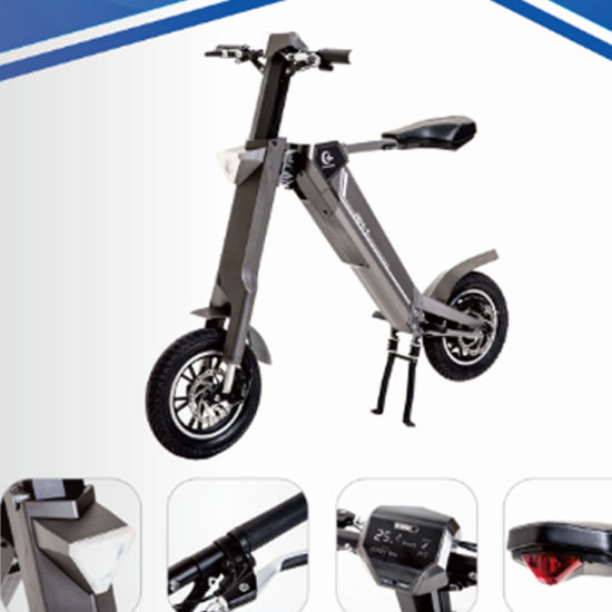 12 Inch Electric Folding Scooter 350W E-Scooter