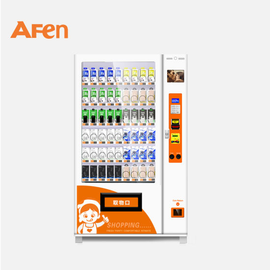 Afen High Quality Automated Vending Machine Dispense Contact Lenses Hand Painted Candles Vendor Machine