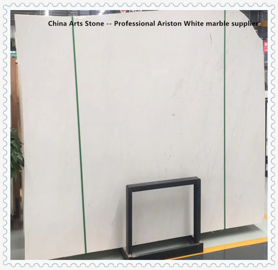 Top Quality Bianco Ariston White Marble Slab for Project Tiles