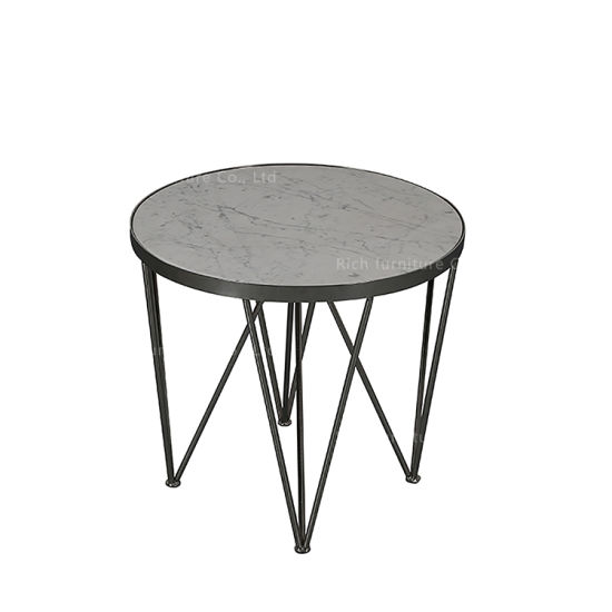 Marvelous Modern Living Room Marble Furniture Home Round Coffee Side Table Short Links Chair Design For Home Short Linksinfo