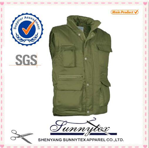 OEM Wholesale Cheap Outdoor Fishing Custom Work Waistcoat Vest pictures & photos