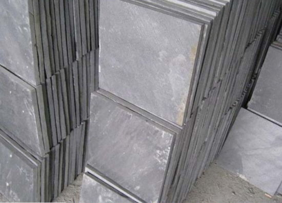 Natural Black Cultural Slate for Roofing and Wall pictures & photos