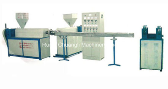 Two-Color PP/PE/EVA/PVC Zipper Making Machine for Zipper Lock Bag pictures & photos