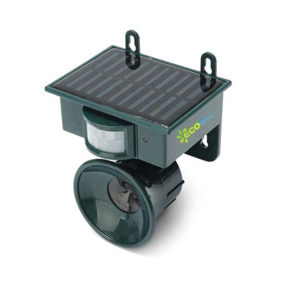 High Power Smart Sensor Garden Guard Repel Bat Snake Pigeon Scare Solar Power Ultrasonic Bird Repellent Pest Control