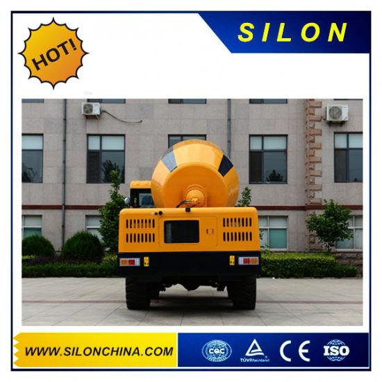 4.0m3 Front Discharing Shovel Mobile Concrete Cement Mixer Truck