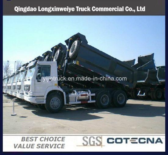 China Sinotruk HOWO Series 290HP 20cbm Dumper Truck