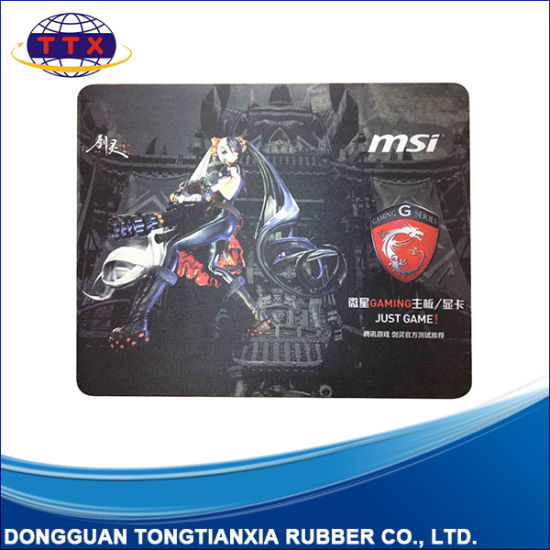 Large Size Printed Game Mouse Mat