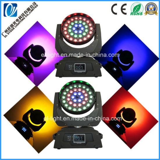 Stage Light Zooming Moving Head with 36*21W Big Power High Brightness for Show Event From China Manufacturer