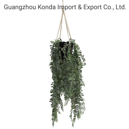 Anti-UV New Arrival Plastic Hanging Artificial Plants