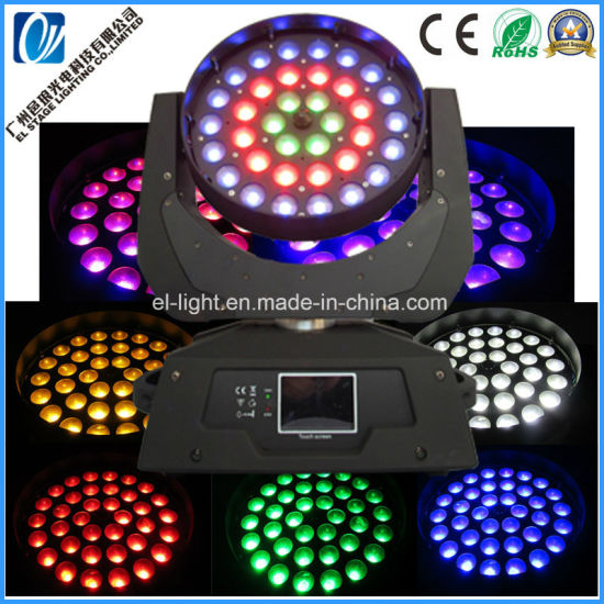 36X15W 4-in-1 RGBW LED Moving Head Wash Light Hot Sales Zooming Functions