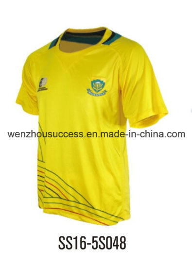 Hot Sale Yellow Soccer Jersey