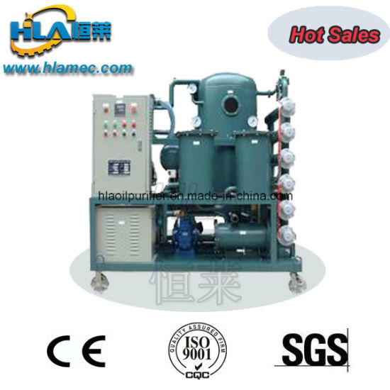 Vacuum Heating Demulsification Used Refrigeration Oil Purifier pictures & photos
