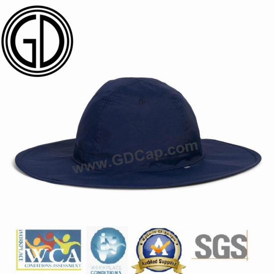 78806ea23 China High Quality Classics Blue Navy Polyester Cowboy Bucket Hat ...
