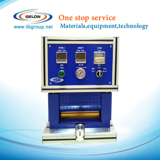Heating Top and Side Sealing Machine for Pouch Battery Mobile Battery Lab Machine-- Gn-140