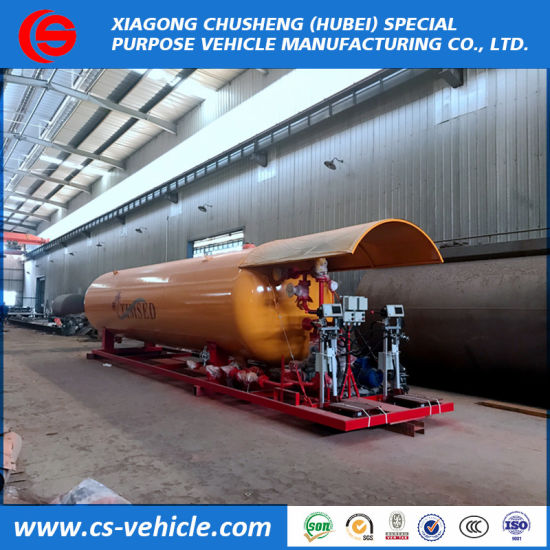 Factory Selling 20t LPG Skid-Mounted Gas Plant 40m3 40000L LPG Skid Station