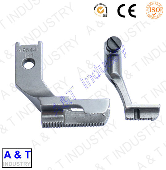 CNC Customzied Aluminum/Brass/Stainless Steel/Walking Foot Sewing Machine Parts/Presser Foot pictures & photos