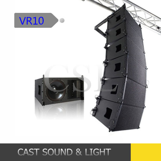 Top Neodymium Driver V8 10inch Line Array Speaker pictures & photos