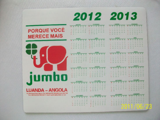 Promotional Calendar Mouse Pad with Cheap Price pictures & photos