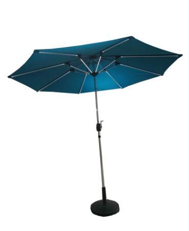 Solar Garden Umbrella Outdoor Umbrella Parasol with LED Light Umbrella (Hz-S71) pictures & photos