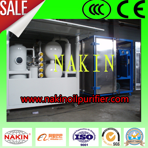 Closed Type Vacuum Transformer Oil Purifier, Waste Oil Recovery System pictures & photos