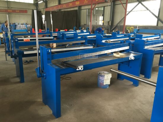 Steel Body Sheet Plate Shearing Machine Q01-1.25X2000 Q01-1.5X1050 Metal Cutter pictures & photos