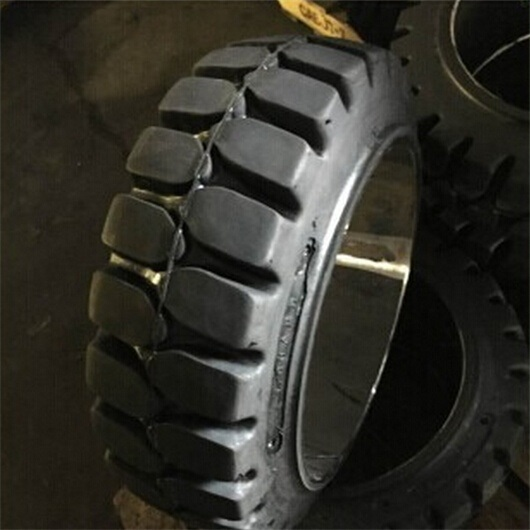 High Quality 10X5X6 1/2 Press on Solid Tires/Tyres for Forklift