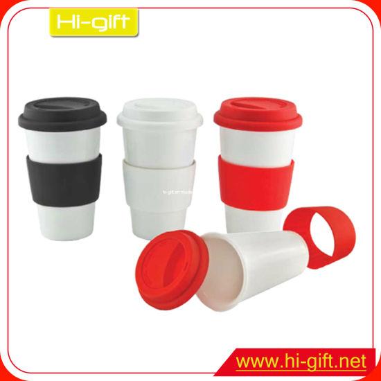Custom Silicone Sleeve Coffee Cup (M0212)