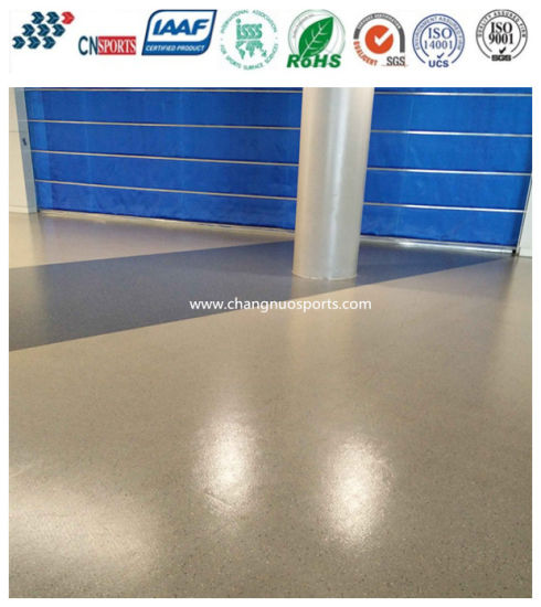 Easy Construction Dustproof and Soundproof Resilient Flooring