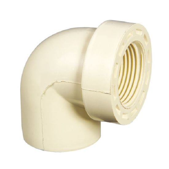 CPVC DIN Fittings BSPT Female Reduced Elbow