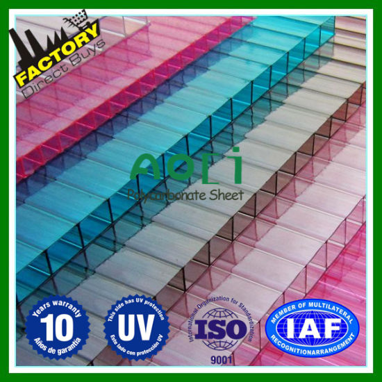 China Greenhouse Coverings Materials Polycarbonate Sheets Pc