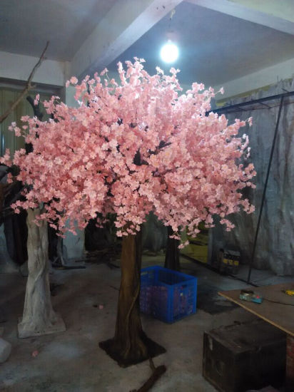Home Decor 10f Pink Artificial Cherry Blossom Tree