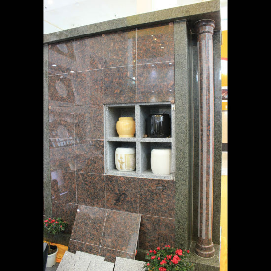 48 Niche All Granite Columbarium with Two Pillars pictures & photos