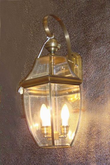 Pw-19031 Copper Wall Lamp with Glass Decorative pictures & photos