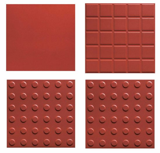 China Red Color Terracotta Clay Ceramic Floor Tile For Floor