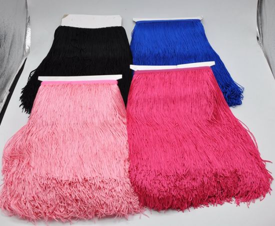 30cm High Qaulity More Colors Choice Fringe for Latin Dress