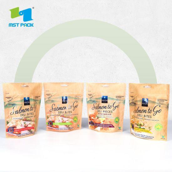 Doypack Stand up Zipper Matte Gloss Finish Food Packaging