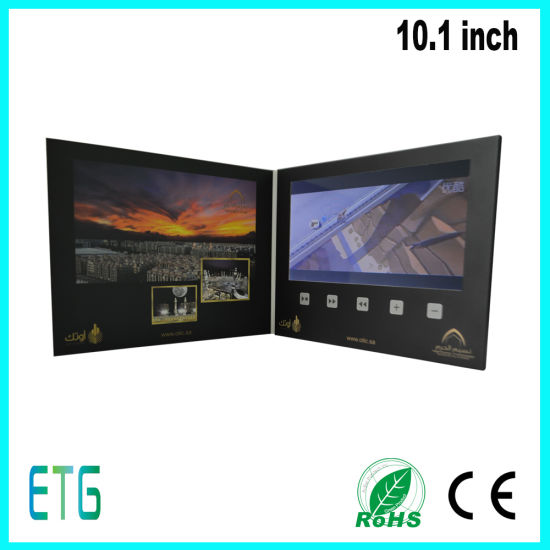 Customized Printing LCD 10.1inch Video Brochure pictures & photos