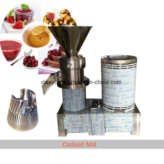 Multifunctional Peanut Sesame Cocoa Butter Maker Bone Grinder Machine