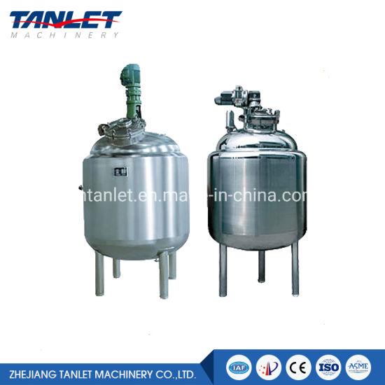 Stainless Steel Tank Solution Preparation Water Storage Tank