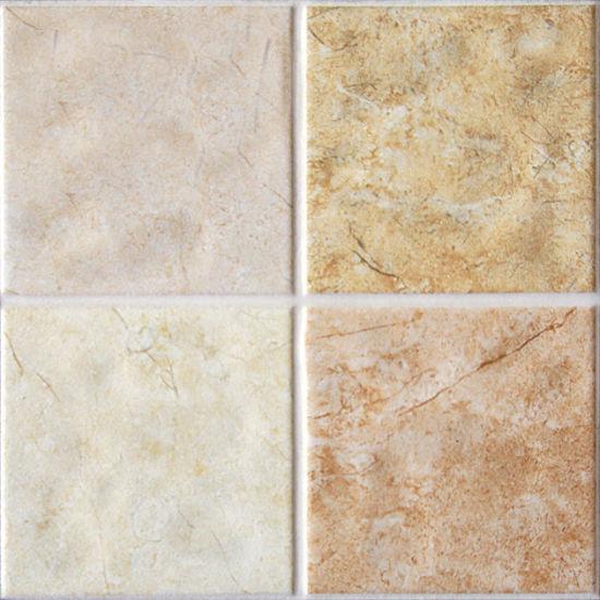 China Unglazed Rustic Bathroom Ceramic Floor Tile for Bathroom ...