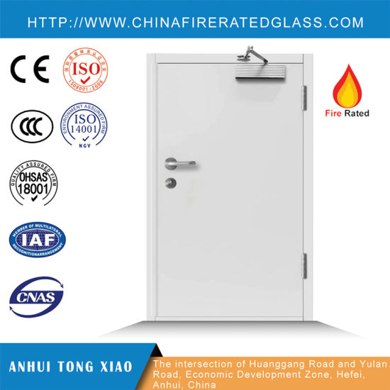 Customized Sizes, Color, Rating Time Steel Fire Door with Reasonable Price pictures & photos
