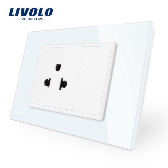 China Livolo Au/Us Standard Power Outlet Us Socket Vl-C9c1us-11 ...