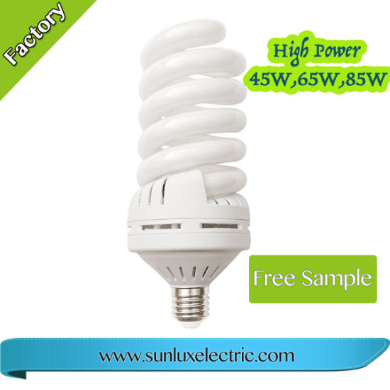 Classical Light CFL Lighting Bulb Full Spiral 15W 32W 45W 65W Energy Saving Lamp pictures & photos