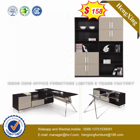 Oven Shape Design Iron Leg 20 Days Delivery Office Desk (NS-D049) pictures & photos