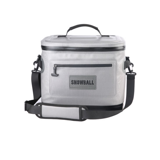 Snowball Soft Cooler 30 Can Insulated Leak Proof Soft Pack Coolers Waterproof Soft Sided Cooler Bag for Camping, Fishing, Road Beach Trip, Golf, Picnics