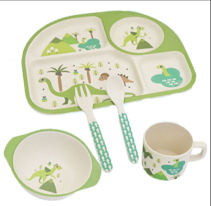 (BC-CS1072) Bamboo Fiber Tableware Set for Kids pictures & photos