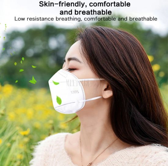 Reusable Mask Face 95% Meltblown Cloth Filter 5 Ply Anti Pm2.5 Particulate Pollution Protective Respirator Reusable Disposable Face Mask Made in China