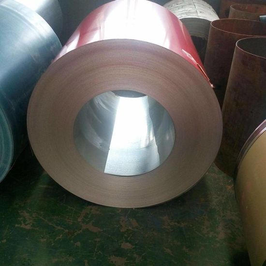 JIS GB BS G40 G550 Full Hard Color Coated Steel Coil for Roofing Sheet pictures & photos