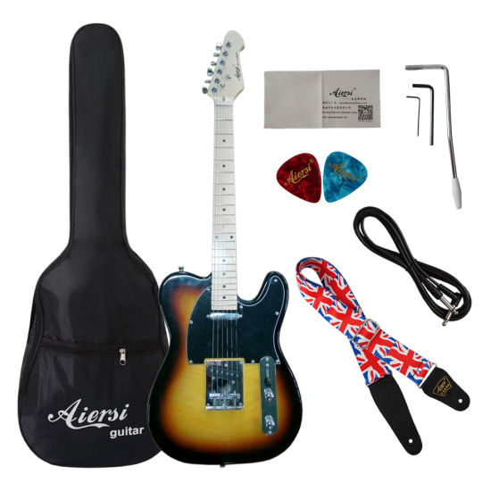 Discounted Aiersi Factory Products Stock Cheap Wholesale Electric Guitar pictures & photos